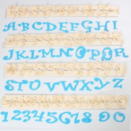 FMM Chunky Funky Alphabet & Numbers Set Tappits