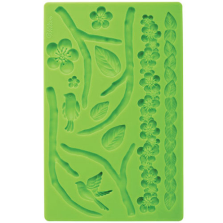 400213 wilton nature fondant and gum past mold