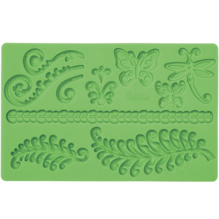 400216 wilton fern fondant and gum past mold