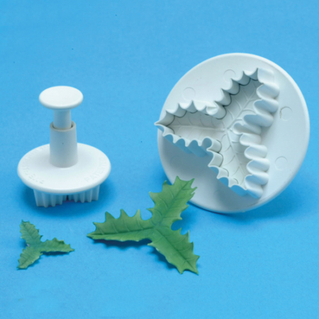 PME Three leaf holly plunger cutter set/2