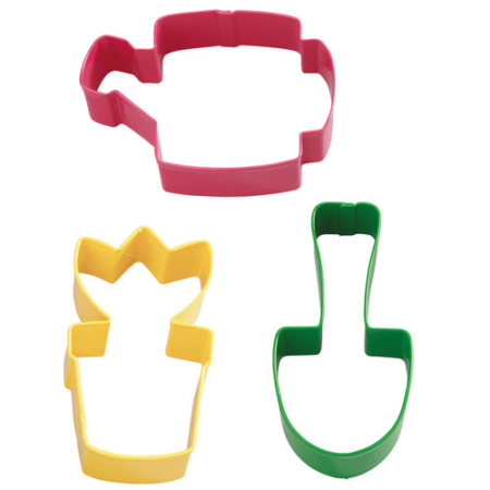 Wilton Cookie Cutter Garden Set 3