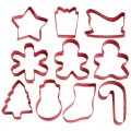 Wilton Cookie Cutter Holiday Set/10
