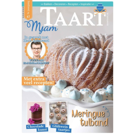 MjamTaart! Taartdecoratie Magazine Winter 2017