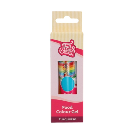 FunCakes Food Colour Gel Turquoise 30 g