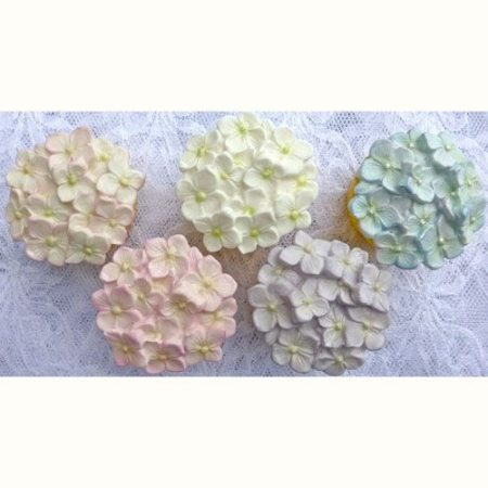 Karen Davies Cupcake Top Mould - Hydrangea