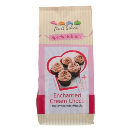 FunCakes Special Edition Mix voor Enchanted Cream Choco 450g