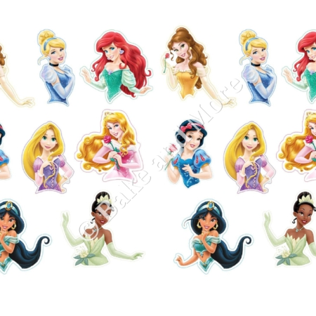 Disney prinssessen toppers