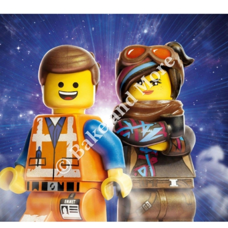 Lego Emmet and Lucy