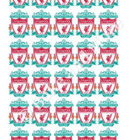FC Liverpool cupcakes