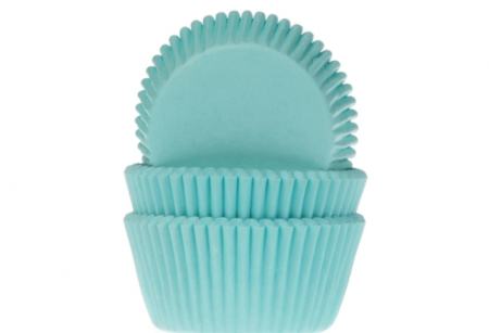 House of Marie Baking Cups Turquoise