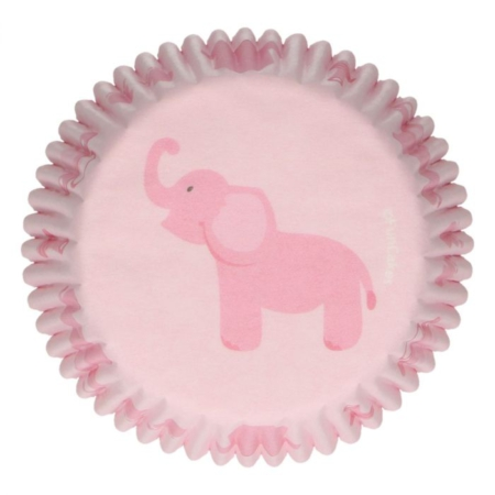 FunCakes Baking Cups -Baby Girl- pk 48