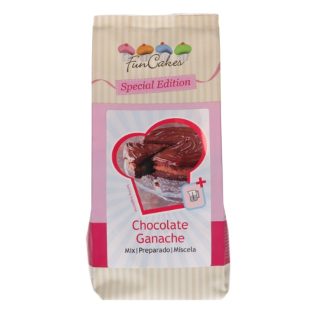 FunCakes Special Edition Mix voor Chocolade Ganache 400g