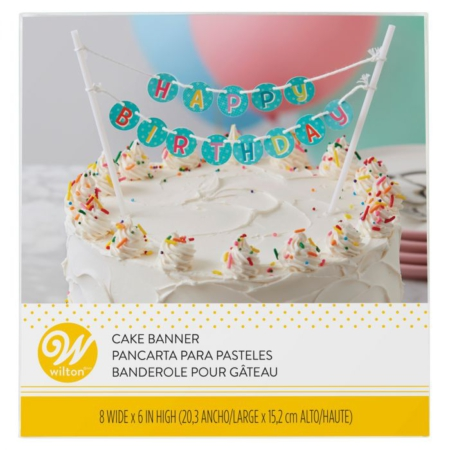 Wilton Cake Banner Happy Birthday