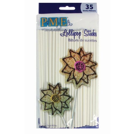 PME Lollipop Sticks -16cm- pk/35