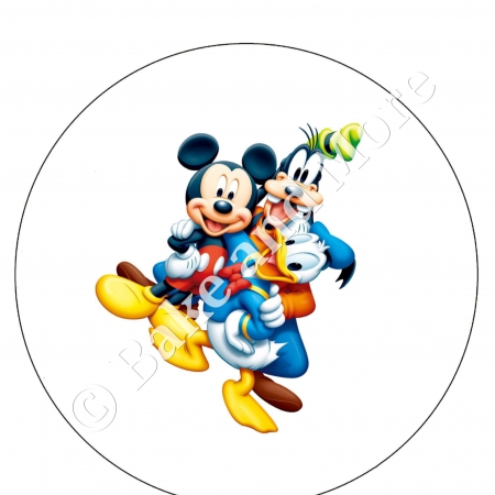 Mickey, Donald en Goofy