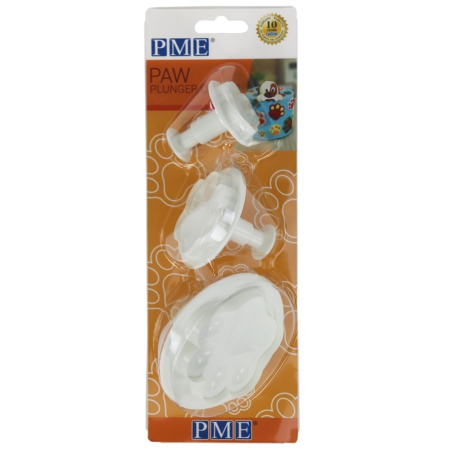 PME Paw Plunger Cutter Set 3