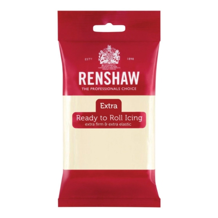 Renshaw Rolfondant Extra 250g - White Chocolate Flavoured-