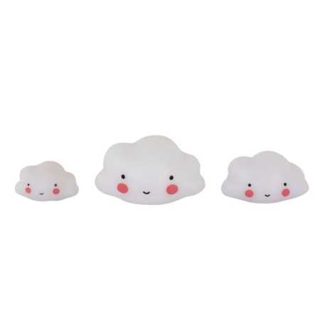 ALLC Mini Cake Topper Clouds Set/3