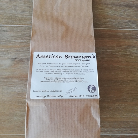 American Brownie mix