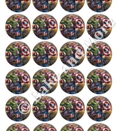 Avengers 3 cupcakes