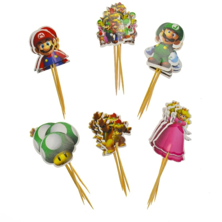 Super Mario Toppers