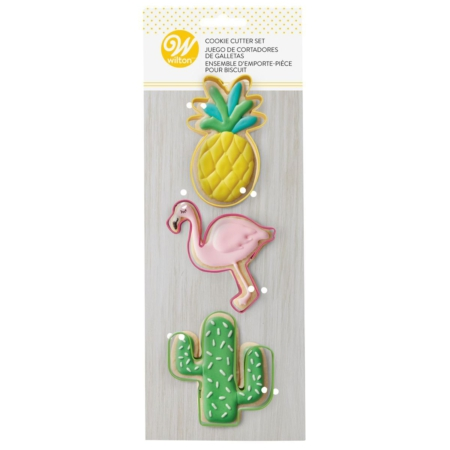 Wilton Cookie Cutter Tropical Set 3