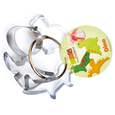 Scrapcooking Cookie Cutter Dinosaur Set/4