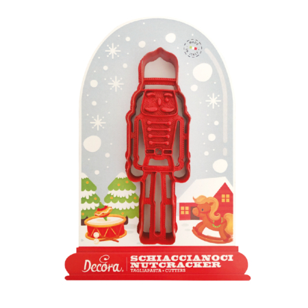 NUTCRACKER PLASTIC COOKIE CUTTER