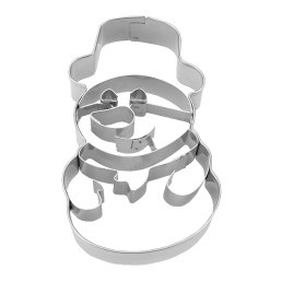 Snowman with stamp
